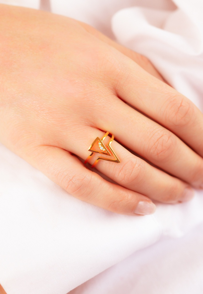 Triangle Unity Ring
