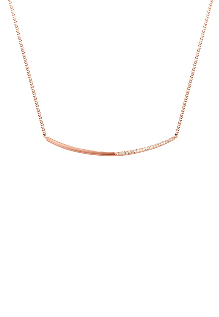 Linea Necklace White
