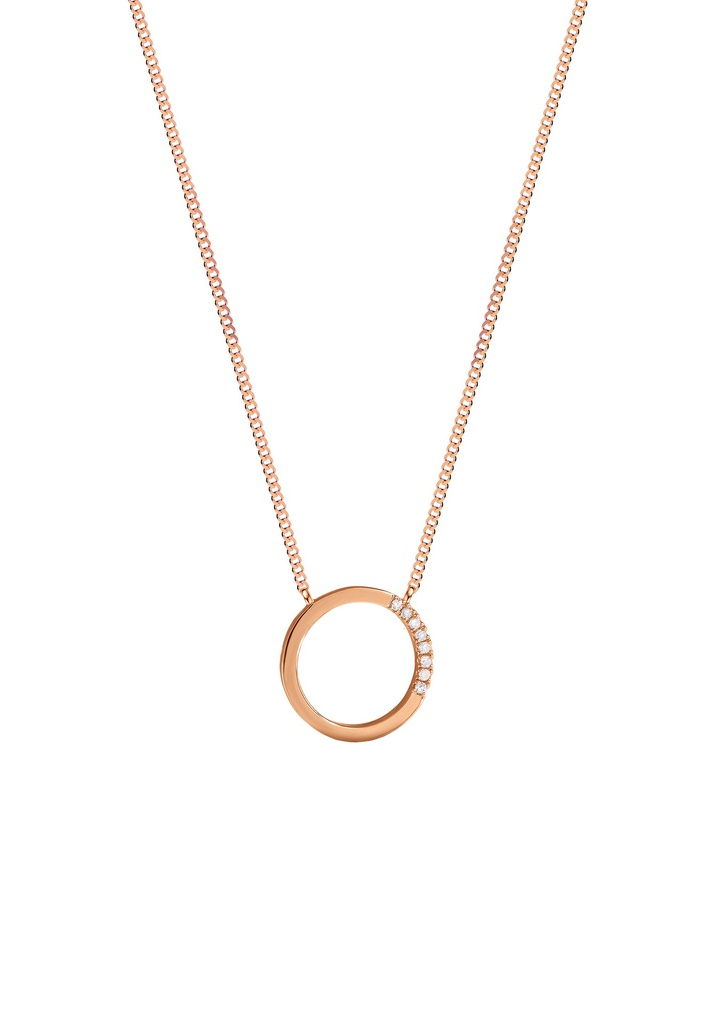 Small Circle of Life Necklace