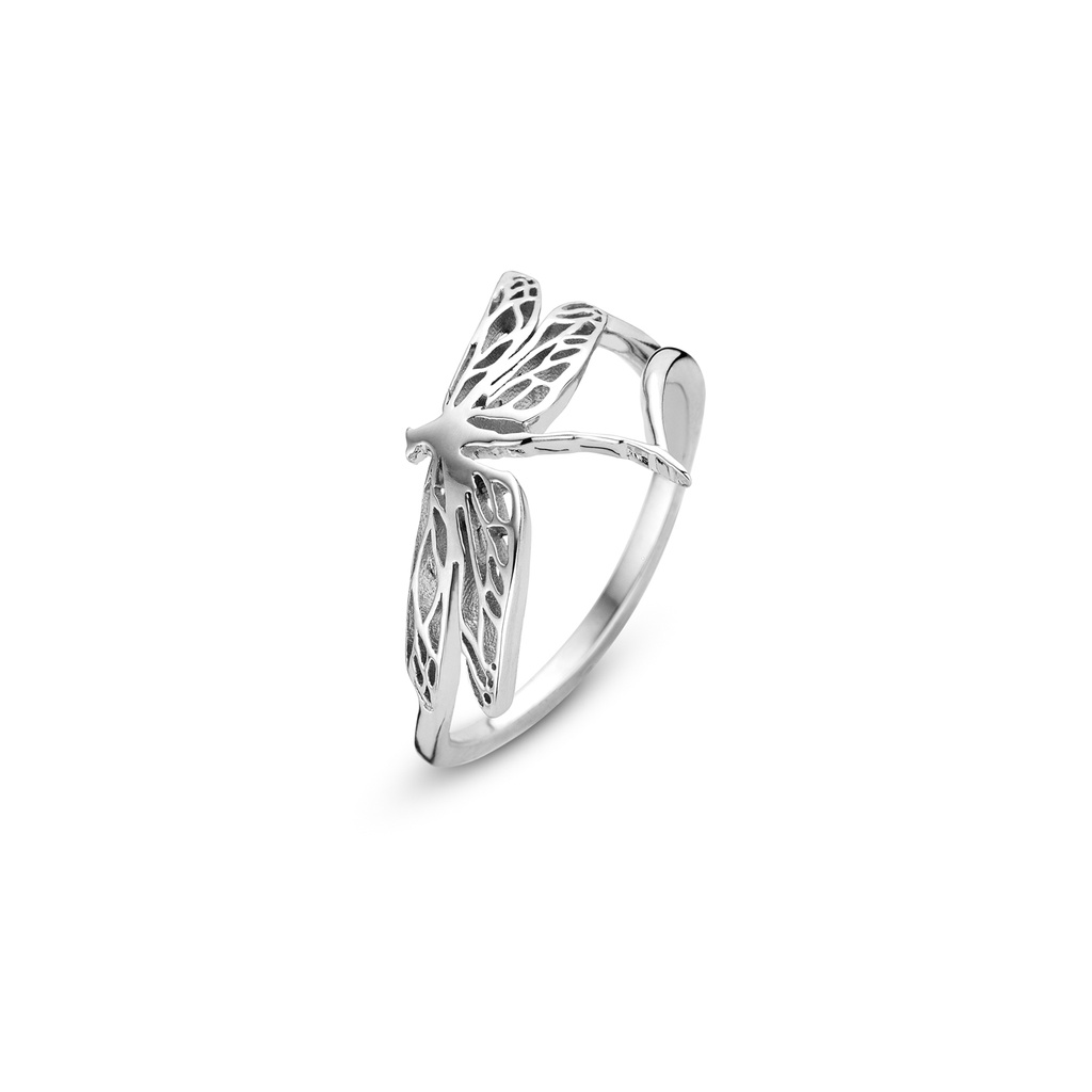 Dragonfly Silver Ring