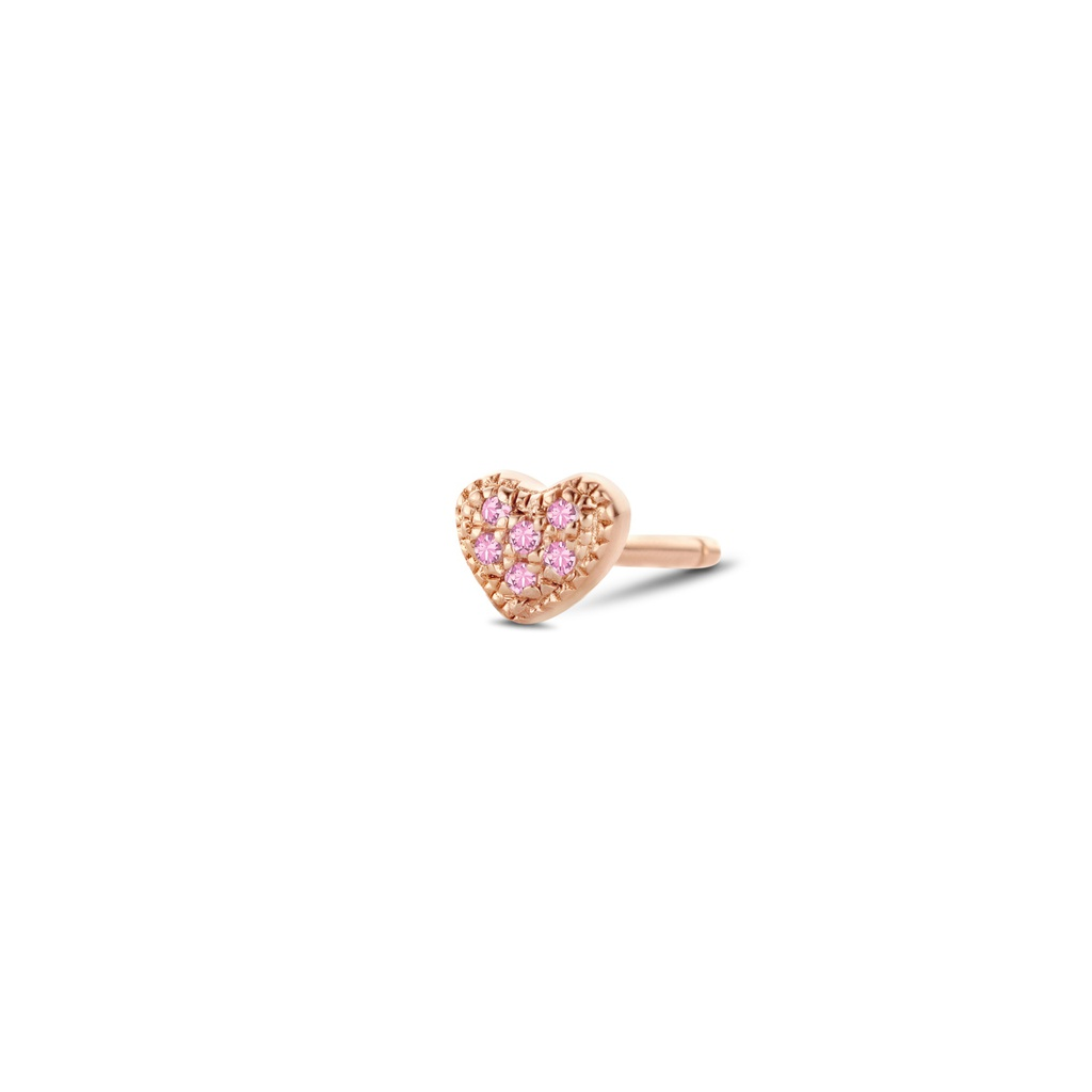 Attraction Heart Earring (Single)