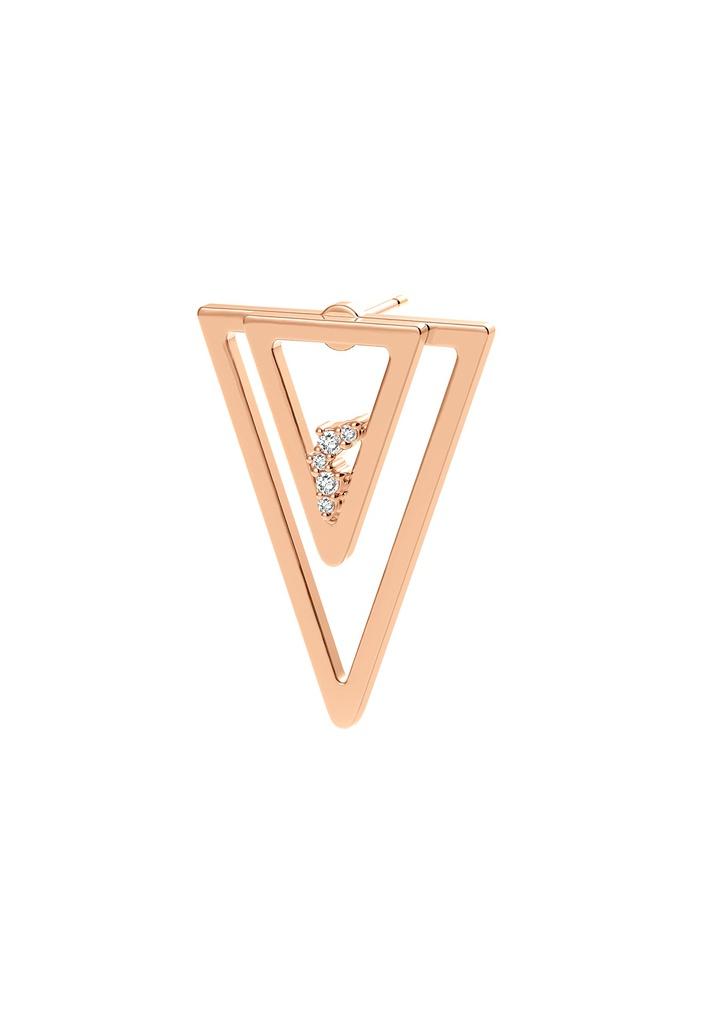 Triangle Unity (Single) Earring