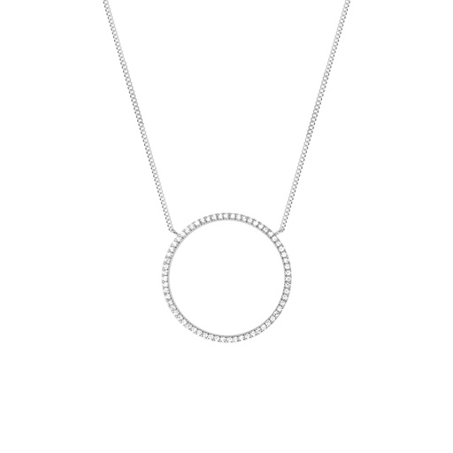 [M254] Full Circle of Life Necklace