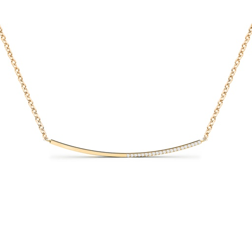[M259] Linea Necklace White