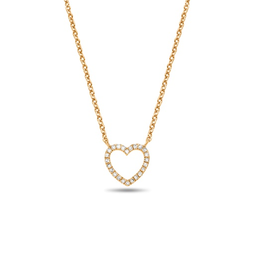 [M875] Heart Necklace