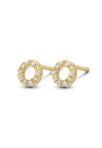 [M454] Small Circle of Life Earring