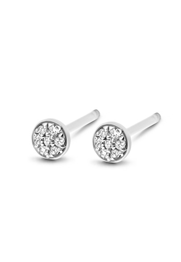 [M455] First Diamond Earring