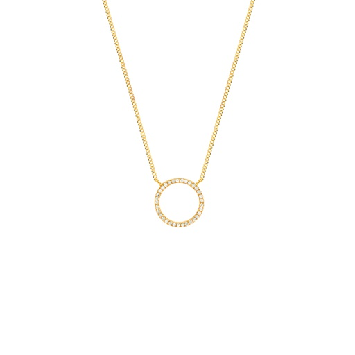 [M457] Small Full Circle Necklace