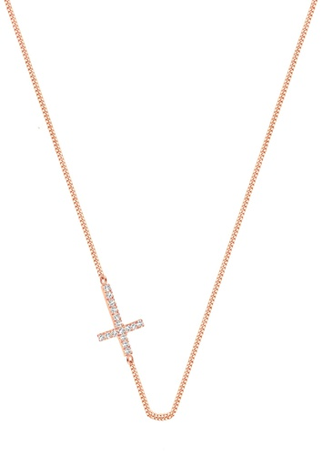[M582] Faith (White) Necklace