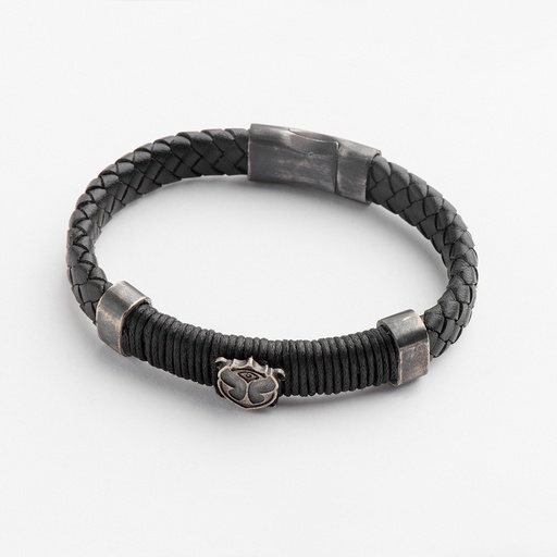 [M1197] Tomorrowland Black Blaze Bracelet
