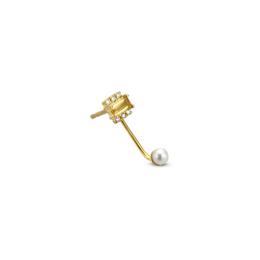 [M1381] Solar Earring (single)