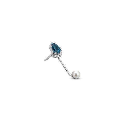 [M1382] Awareness Earring (single)