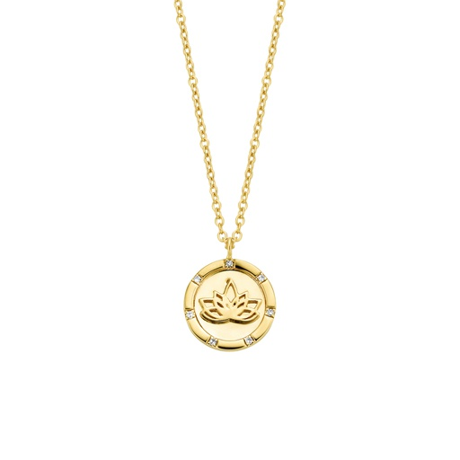 [M1389] Sacred Flower Necklace