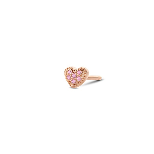 [M1512] Attraction Heart Earring (Single)