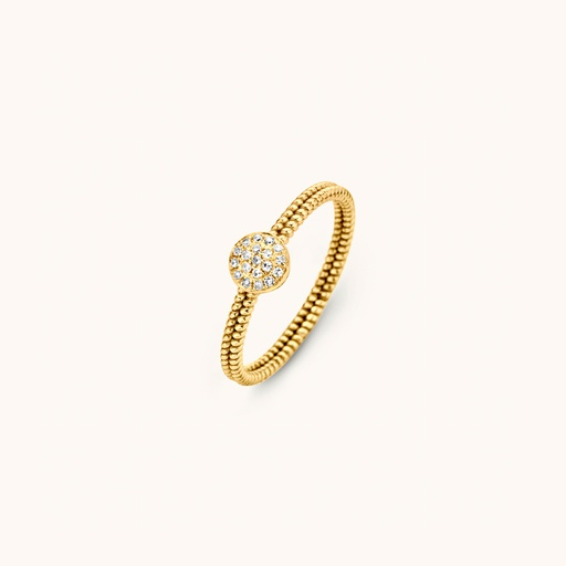 [M1632] GLD - Solid Ring