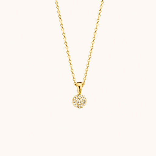 [M1633] GLD - Solid Necklace