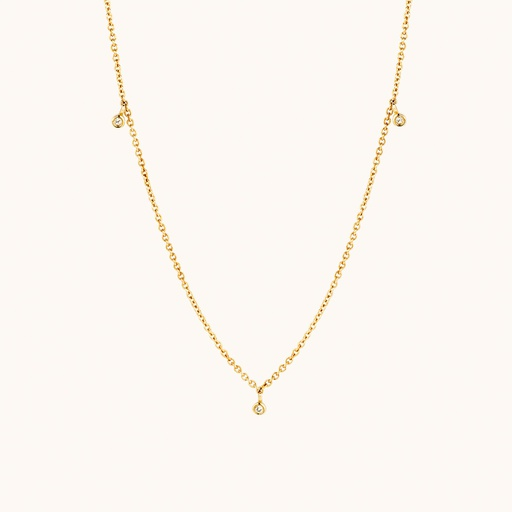 [M1640] GLD - Everlasting Necklace
