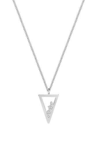 [M1713] Triangle Unity Necklace